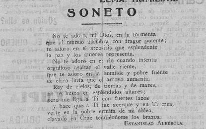 SONET D'ESTANISLAU ALBEROLA AL CRIST